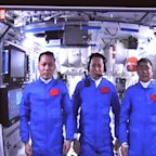 China launches 3 astronauts to its new space station core module