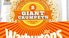 Warburtons takes extra slice of profit with giant crumpets