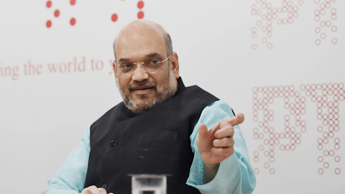Not Possible To Give Jobs To All, We Promoted Self-Employment: Amit Shah