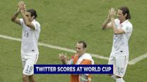 Twitter scores at World Cup