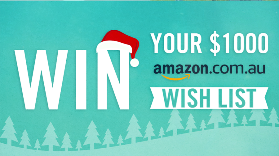 Win your $1,000 Amazon Christmas wish list