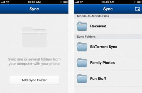 BitTorrent Sync lands on iOS, allows you to securely sync files between devices