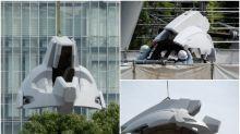【突發】軍事機密 日本台場1比1 Unicorn Gundam頭部裝甲曝光