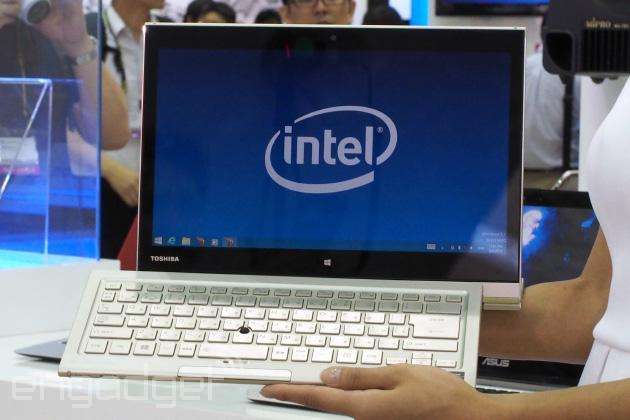With seven different use modes, Toshiba's Kirabook is a Lenovo Yoga on steroids