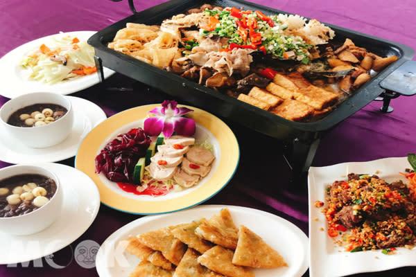 谷關烤魚饗宴,百菇樹子烤鮮魚令人大快朵頤。