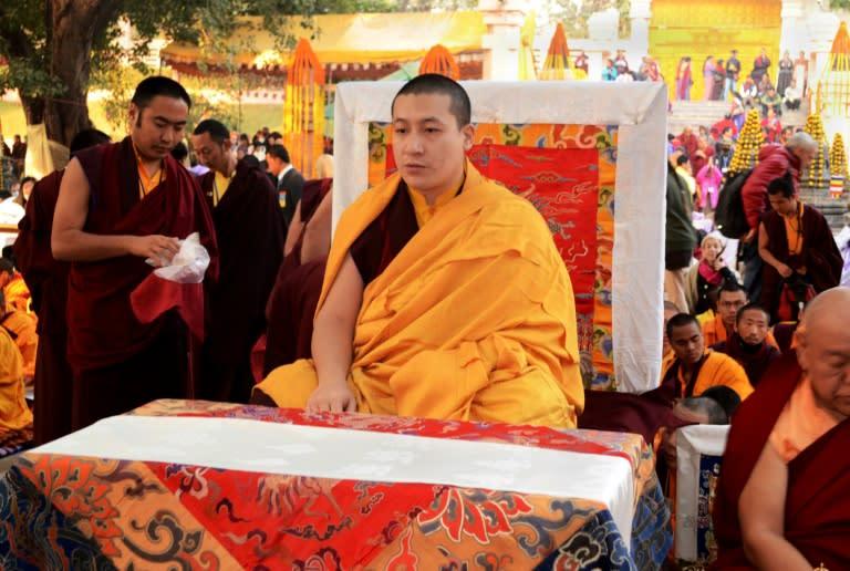 Top tibetan lama abandons monkhood to marry old friend senior tibetan lama thaye dorje c has claimed to be the reincarnation of the karmapa lama since childhood altavistaventures Choice Image