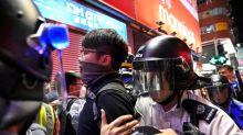 Manifestantes de Hong Kong querem desafiar liquidez de grande banco chinês
