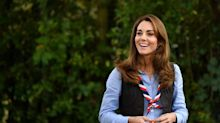 Kate Middleton Sports Skinny Jeans and Platform Hiking Boots for Her Latest Engagement