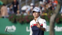 Park leads LPGA event by two at halfway mark in Michigan
