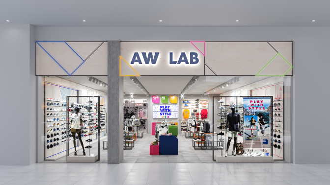 Bata's sport-style retailer AW LAB opens first store in Asia