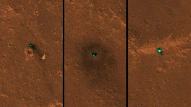 NASA orbiter spots InSight lander (and its junked hardware) on Mars' surface