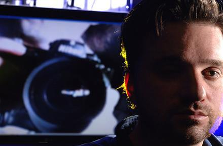 Filmmaker hopes to replace false eye with webcam, become a superhero