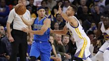 Curry brothers face off in special 'Family Business' shoe