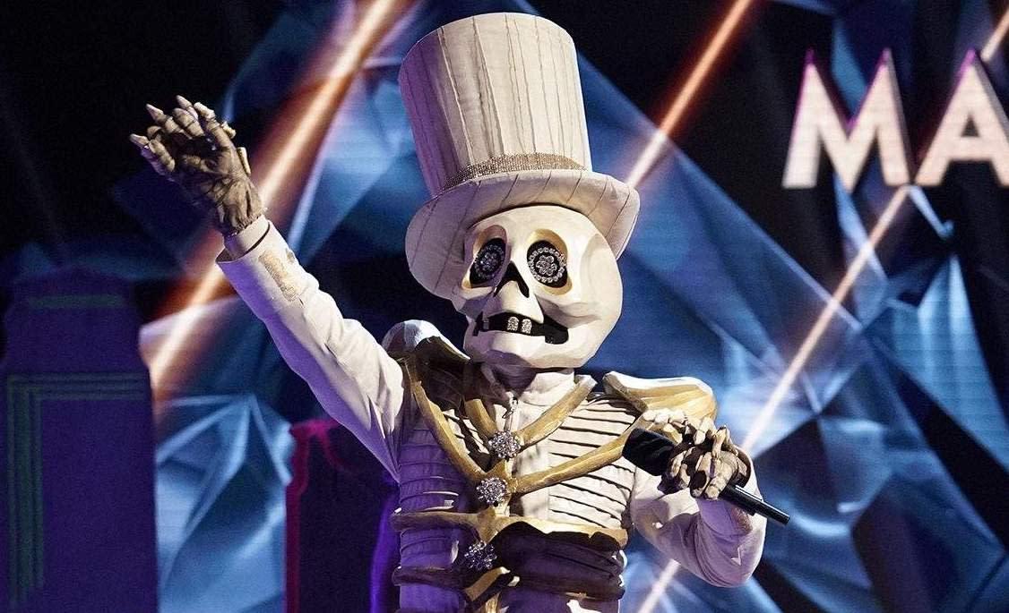 A bone-crushing defeat: Eliminated 'Masked Singer' Skeleton is late-night TV legend