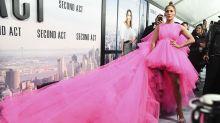 El momento más wow de Jennifer Lopez en la alfombra roja