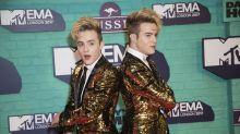Jedward say Piers Morgan has blocked them on Twitter after their rant