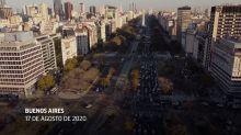 Argentinos protestan en contra de Fernández y cuarentena