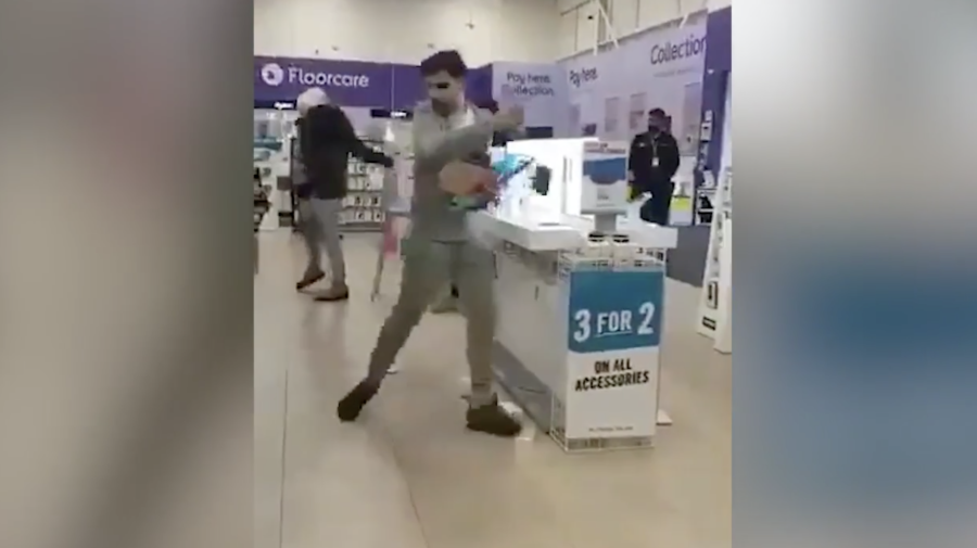 Brazen trio filmed stealing from Currys store
