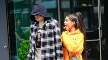 Ariana Grande Says Pete Davidson Didn't Get Down on a Knee When He Proposed