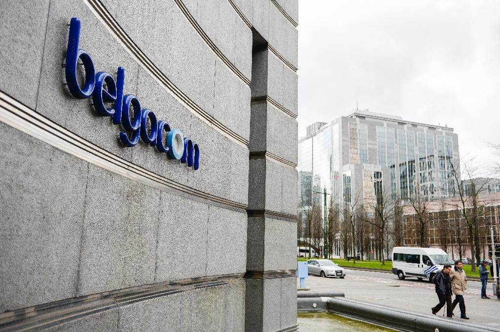 State-owned telecom giant Belgacom, whose headquarters are seen in Brussels in 2014, was hacked by British intelligence on behalf of the US, according to a confidential report