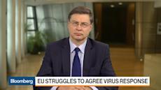 Dombrovskis Says Europe Is Reacting Boldly to Coronavirus Crisis