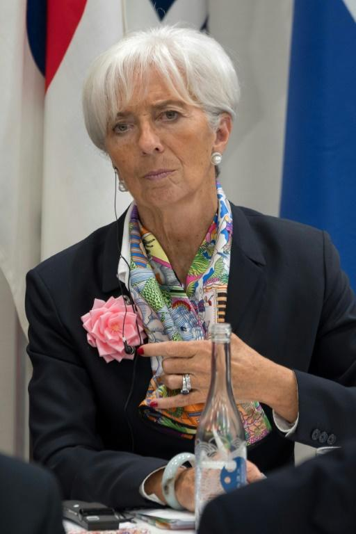 Christine Lagarde is well known for her stamina and commitment to physical fitness (AFP Photo/Jacques Witt)
