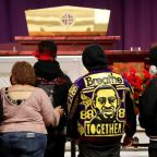 'I feel sadness': Family and friends view body of Daunte Wright