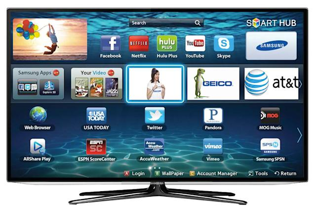 Samsung is packing more ads into its smart TV interface