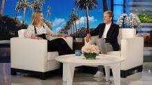 Kristen Bell Tells Ellen DeGeneres About Her Neighbor's Naked Yoga Sessions