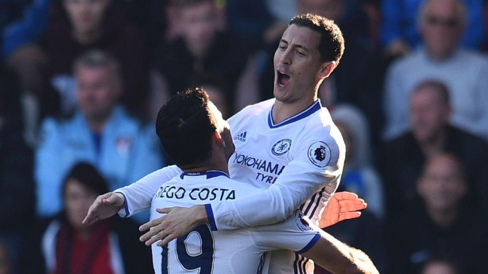 Chelsea, Hazard croit au titre