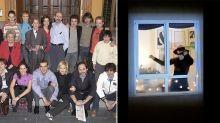 Una comunidad de vecinos aprovecha el aislamiento para recrear la cabecera de 'ANHQV'