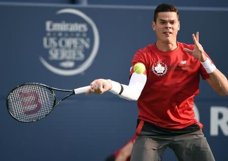 Tennis: Rogers Cup-Raonic vs Sock