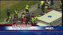 Bus carrying Waggener students involved in I-64 crash