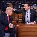 "Jimmy Fallon Gives Rare Slap Back At Donald Trump Over ""Be A Man"" Slag; Host Donates To TV Scribes' Stop Border Separation Campaign – UPDATE"