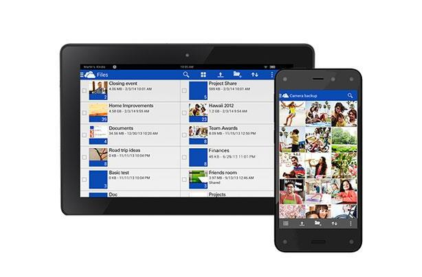 Microsoft OneDrive arrives on Amazon's Kindle Fire and Fire phone