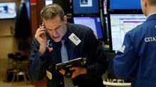 Wall Street lower as yields, Alphabet weighs