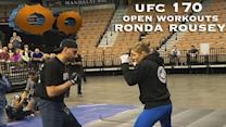 TheShoot! - Ronda Rousey Open Workout