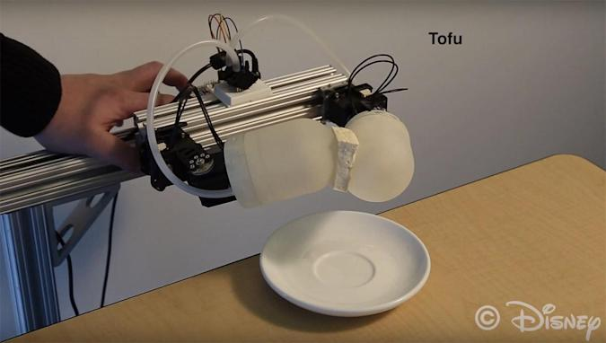 Disney Research designs 3D-printed soft skin system for toy robots
