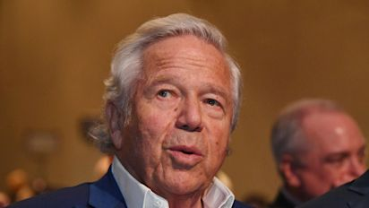 Patriots owner charged in prostitution sting