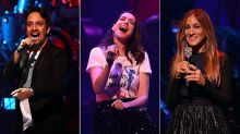 Lin-Manuel Miranda, Anne Hathaway, Sarah Jessica Parker and More Perform at Broadway Fundraiser for Hillary Clinton