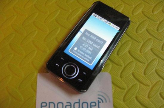 Sciphone's Android-loving N21 gets some time on video