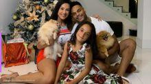 Scheila Carvalho se emociona ao ver filha dançando axé com o pai, Tony Salles