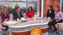 Piers Morgan swears at Good Morning Britain guest who says all British women are fat, ugly and not marriage material