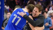 What does the play-in tournament look like for the Mavericks?
