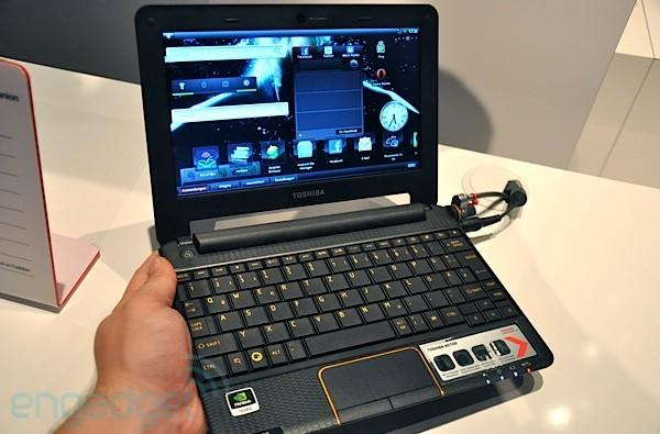 Toshiba AC100 smartbook preview: what were you expecting?