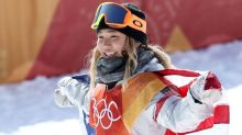 Chloe Kim rallies, wins in first snowboard contest in 22 months