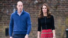Kate Middleton shrugs off Prince William's PDA in 'awkward' video: 'What just happened here?'