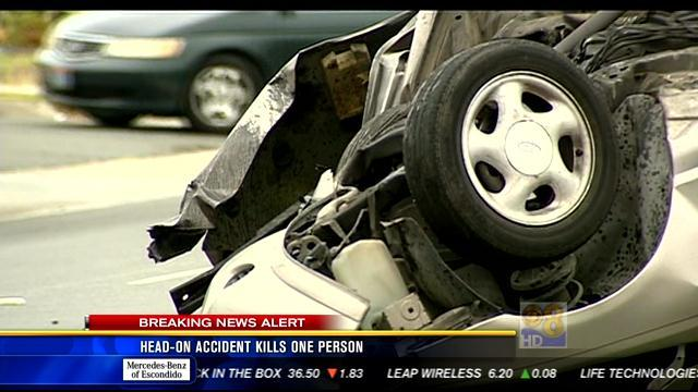 11AM UPDATE: Head-on accident kills one person
