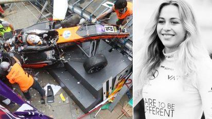 Teen driver suffers spinal injuries in Macau crash