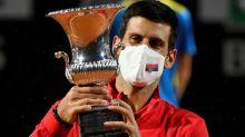Novak Djokovic beats Diego Schwartzman to win fifth Italian Open crown and pass Rafael Nadal's Masters titles record